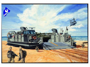 Trumpeter maquettes bateau 00107 LCAC LANDING CRAFT AIR 1/144