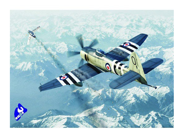 Trumpeter maquette avion 01631 HAWKER SEA FURY FB.11 1/72