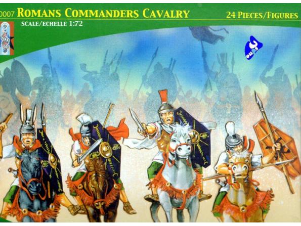 Lucky maquette FIGURINES TL0007 Commandant de cavallerie Romaine