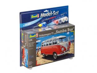 Revell 67399 Model Set Volkswagen T1 SAMBA BUS 1/24