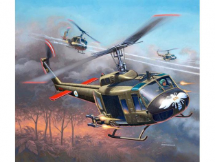 Revell maquette helicoptére 04983 Bell UH-1H Gunship 1/100