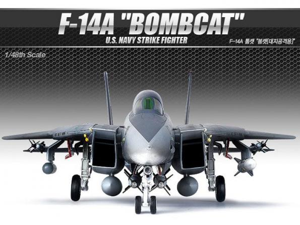 Academy maquettes avion 12206 F-14A Bombcat 1/48