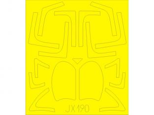 Eduard Express Mask JX190 A-6E Tram Trumpeter 1/32