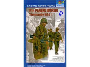 Trumpeter maquette militaire 00401 12ème SS panzer division 1/35
