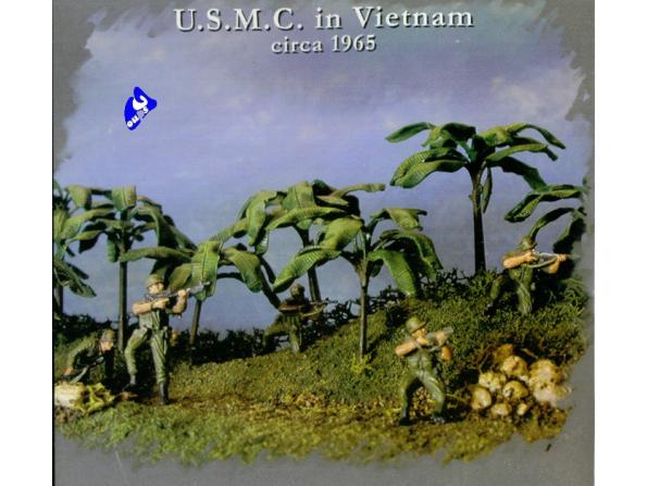 Pegasus maquette militaire 7401 U.S.M.C. Vietnam 1/72