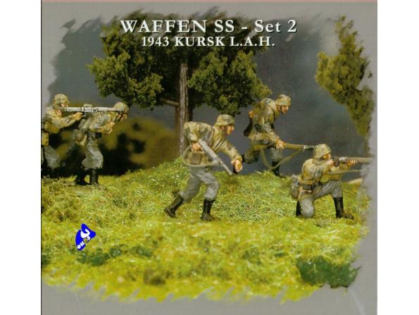 Pegasus maquette militaire 7202 Waffen SS set2 1/72