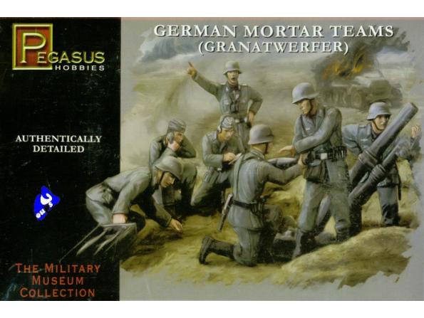 Pegasus maquette militaire 7204 Mortier Allemand 1/72