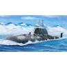 BRONCO maquette bateau nb 5020 Sous-marin d'attaque Russe Akula II K335 Giepard 1/350