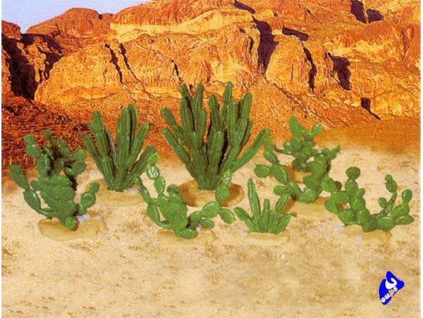 Pegasus maquette diorama 6507 Larges Cactus 1/72