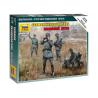 Zvezda maquette figurine 6133 Etat-Major Allemand WWII 1/72
