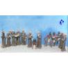 Pegasus maquette figurines 7003 Missionaires & Indiens 1/48