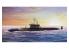BRONCO maquette bateau nb 5022 Sous-marin Russe Projet 955 Borei Yuri Dolgoruky SSBN 1/350