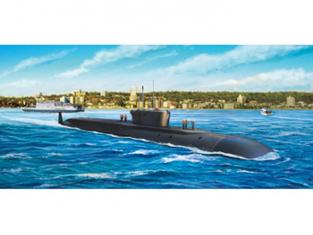 BRONCO maquette bateau nb 5023 Sous-marin Russe Borei Classe K550 Alexander Nevskiy SSBN 1/350