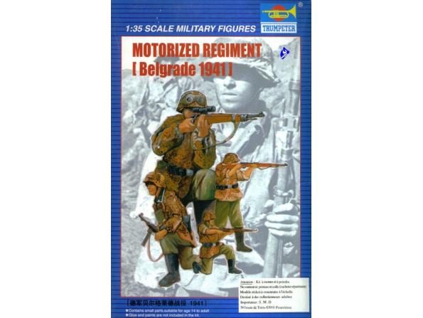 Trumpeter maquette militaire 00403 SS Rgt Das reich 1/35