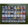 Vallejo Set Model Color 70140 Couleurs de base U.S.A. 16 x 17ml