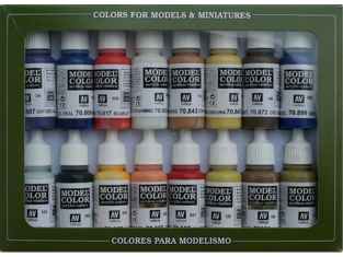Vallejo Set Model Color 70147 Coloniale Americaine 16 x 17ml