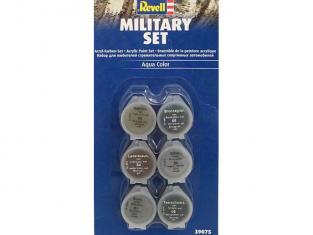 Revell set de peintures acrylique 39075 set Militaire