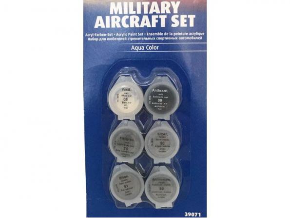Revell set de peintures acrylique 39071 set avions militaire