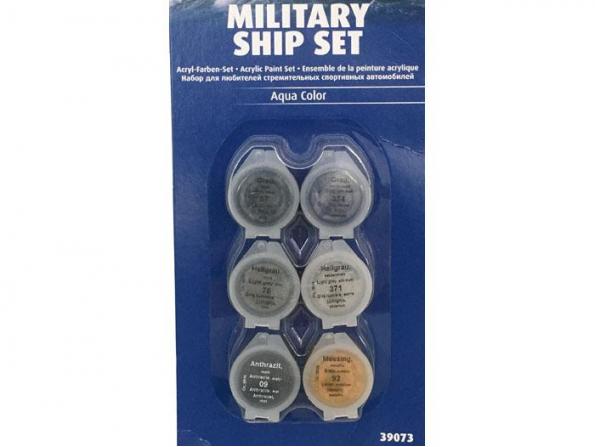 Revell set de peintures acrylique 39073 set Bateau militaire