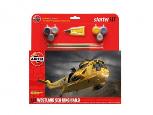 Airfix maquette en set 55307 Westland Sea King HAR.3 Starter Set 1:72