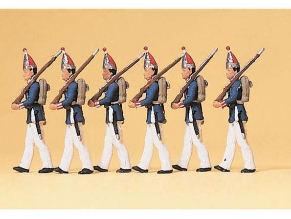 Preiser Figurine 12189 Regiment prussien a pied 1894 HO