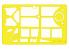 Eduard Express Mask JX016 Fieseler Fi 156 Storch Hasegawa 1/32