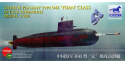 "BRONCO maquette sous marin bb2004 TYPE 041 ""Yuan"" 1/200"