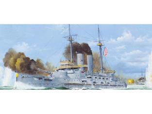 Merit maquette bateau 62004 CUIRASSE JAPONAIS MIKASA 1905 1/200