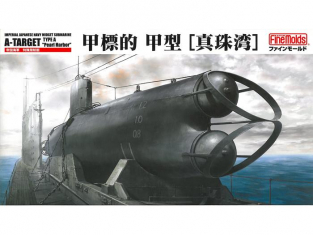 "Fine Molds maquettes sous marin FS2 A-TARGET Type A ""Pearl Harbor"" 1/72"