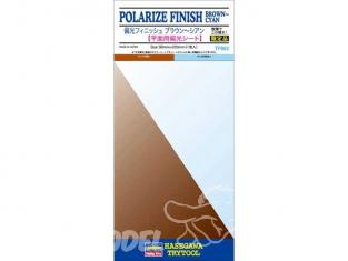 HASEGAWA 71903 Plaque de finition adhésive pour détails de couleur marron cyan polarisé