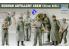 Trumpeter maquette militaire 00409 SET D&39ARTILLEURS ALLEMANDS 1/