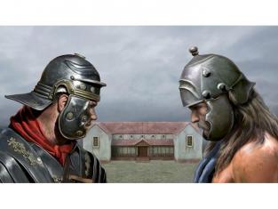 ITALERI maquette militaire 6115 Pax Romana Struggle At The Roman Villa 1/72