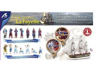 Artesania Bois 22517-F Figurines Hermione La Fayette 1/89