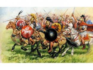 Zvezda maquette personnages 8038 Cavalerie Romaine 1/72