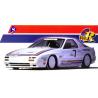 Aoshima maquette voiture 37683 RX-7 Bonneville 1/24