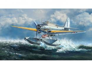 Great Wal Hobby maquette avion L4812 Douglas TBD-1A Devastator Hydravion 1/48