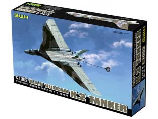 Great Wal Hobby maquette avion L1002 R.A.F. Vulcan K.2 Tanker 1/144