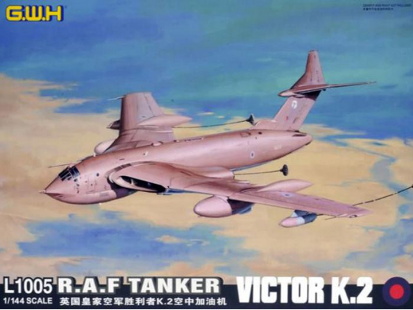 Great Wal Hobby maquette avion L1005 R.A.F. Victor K.2 Tanker 1/144