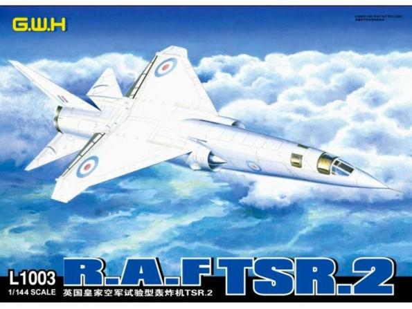 Great Wal Hobby maquette avion L1003 R.A.F. TSR.2 1/144