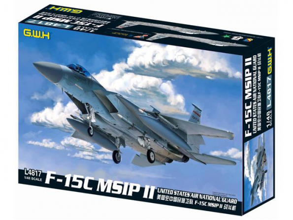 Great Wal Hobby maquette avion L4817 F-15C MSIP II 1/48