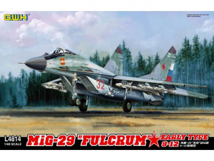 Great Wal Hobby maquette avion L4814 MiG-29 Fullcrum 9-12 Debut de production 1/48