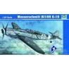 TRUMPETER maquette avion 02409 MESSERSCHMITT Bf 109 G-10 1/24