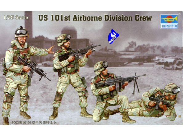 Trumpeter maquette militaire 00410 US 101éme AIRBORNE DIVISION 1