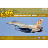"Kinetic maquette avion K48012 F-16C Block 40 Israeli Air Force ""Barak"" 1/48"