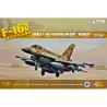 Kinetic maquette avion K48009 F-16D Brakeet Israel Fighting Falcon avec reservoir 600 Gallon 1/48