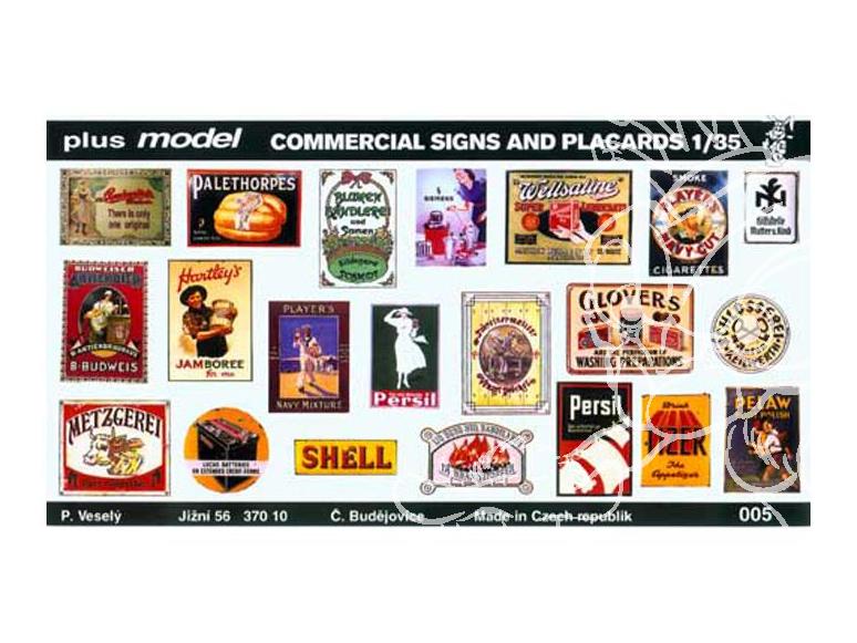 plus model 005 affiches ww2 1/35
