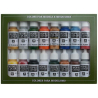 Vallejo Set Model Color 70101 Folkstone Basics 16 x 17ml
