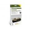 Vallejo Set Afv Painting system 78401 Dunkelgelb German Dark Yellow 6 x 8ml