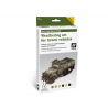 Vallejo Set Afv Weathering system 78406 Weathering pour véhicules verts 7 x 8ml