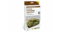 Vallejo Set Afv Camouflage colors 78414 Camouflage Allemand 1943 / 1944 6 x 8ml